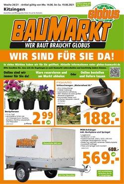Angebote von Baumärkte und Gartencenter im Globus Baumarkt Prospekt ( Gestern veröffentlicht)