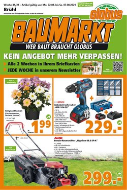 Globus Baumarkt Katalog ( Gestern veröffentlicht)