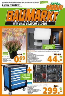 Angebote von Globus Baumarkt im Globus Baumarkt Prospekt ( 2 Tage übrig)