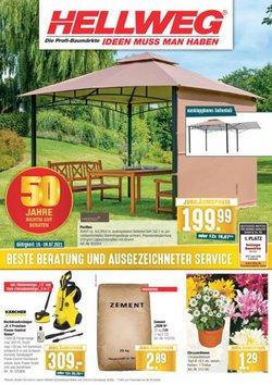 Angebote von Baumärkte und Gartencenter im Hellweg Prospekt ( Läuft heute ab)