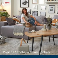 Angebote von Porta Möbel im porta Möbel Prospekt ( 8 Tage übrig)