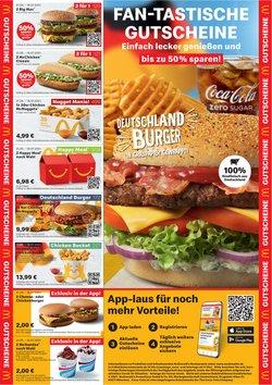 Angebote von Restaurants im McDonald's Prospekt ( 2 Tage übrig)