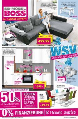 Angebote von Möbelhäuser im SB Möbel Boss Prospekt in Dresden ( Läuft heute ab )