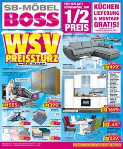 SB Möbel Boss Katalog ( Abgelaufen )