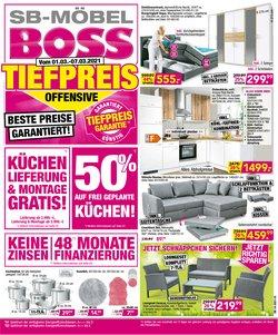 SB Möbel Boss Katalog ( Gestern veröffentlicht )
