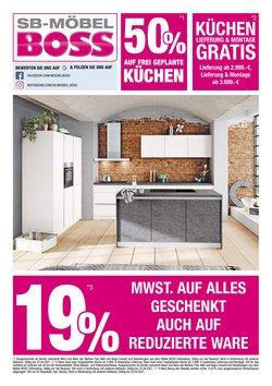 Angebote von Möbelhäuser im SB Möbel Boss Prospekt in Berlin ( 3 Tage übrig )