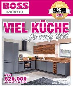 Angebote von Möbelhäuser im SB Möbel Boss Prospekt ( Mehr als 30 Tage)