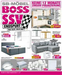 SB Möbel Boss Katalog ( Läuft morgen ab)