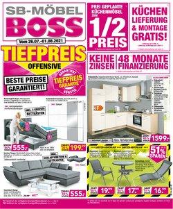 SB Möbel Boss Katalog ( Läuft heute ab)