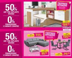 Angebote von Möbelhäuser im SB Möbel Boss Prospekt ( Läuft morgen ab)