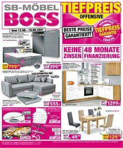SB Möbel Boss Katalog ( 2 Tage übrig)