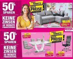 Angebote von Möbelhäuser im SB Möbel Boss Prospekt ( 4 Tage übrig)
