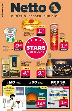 Angebote von Kaufhäuser im Netto Prospekt ( Gestern veröffentlicht)