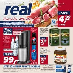 Angebote von Supermärkte im real Prospekt ( Läuft heute ab )