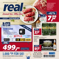 Angebote von Supermärkte im real Prospekt in Hamburg ( 3 Tage übrig )