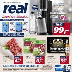 Angebote von Supermärkte im real Prospekt in Berlin ( Läuft morgen ab )