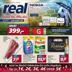Angebote von Supermärkte im real Prospekt ( Gestern veröffentlicht)