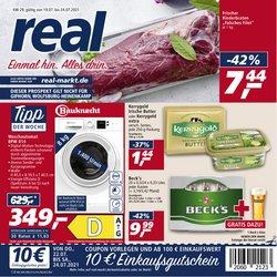 Angebote von Supermärkte im real Prospekt ( Läuft heute ab)