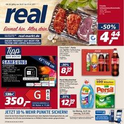 Angebote von Supermärkte im real Prospekt ( Läuft morgen ab)