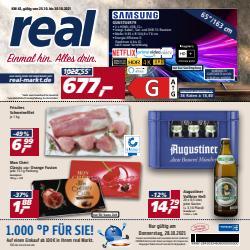 Angebote von Supermärkte im real Prospekt ( 2 Tage übrig)