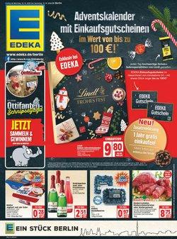 Angebote von Adventskalender im EDEKA Prospekt ( 3 Tage übrig)