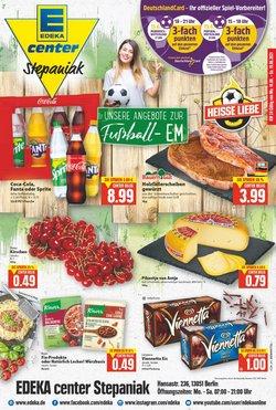 Angebote von Supermärkte im EDEKA Prospekt ( Gestern veröffentlicht)