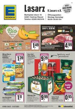 Angebote von Supermärkte im EDEKA Prospekt ( Läuft morgen ab)