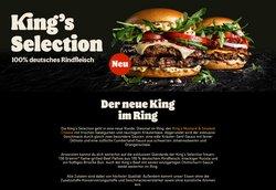 Angebote von Restaurants im Burger King Prospekt ( Gestern veröffentlicht)