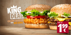 Angebote von Restaurants im Burger King Prospekt in Soest