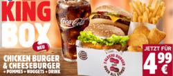 Angebote von Burger King im Recklinghausen Prospekt