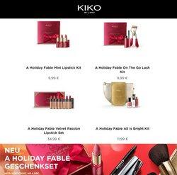 Angebote von Drogerien und Parfümerien im Kiko Prospekt ( Läuft heute ab)