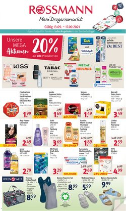 Angebote von Drogerien und Parfümerien im Rossmann Prospekt ( Läuft heute ab)