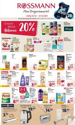 Angebote von Drogerien und Parfümerien im Rossmann Prospekt ( 2 Tage übrig)