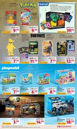 Angebote von Playmobil im Rossmann Prospekt ( 10 Tage übrig)