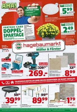 Angebote von Baumärkte und Gartencenter im Hagebaumarkt Prospekt ( Gestern veröffentlicht)