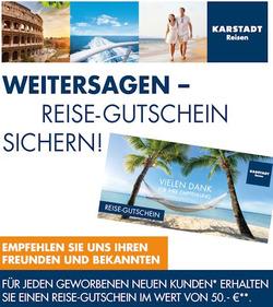Angebote von Karstadt Reisen im Berlin Prospekt