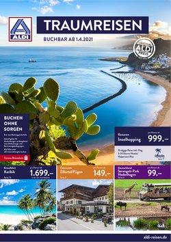 Angebote von Reisen und Freizeit im Aldi Süd Reisen Prospekt ( Neu )