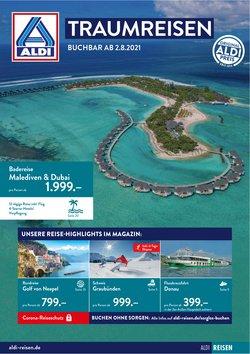 Angebote von Reisen und Freizeit im Aldi Nord Reisen Prospekt ( Gestern veröffentlicht)