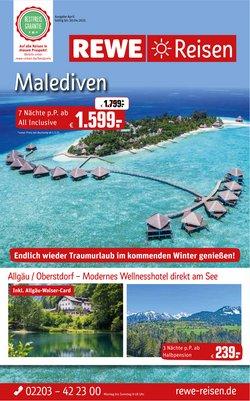 REWE Reisen Katalog ( 7 Tage übrig )