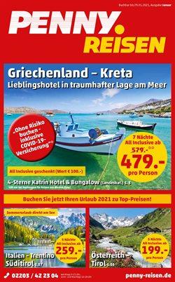 Angebote von Reisen und Freizeit im Penny Reisen Prospekt in Kaiserslautern ( 9 Tage übrig )