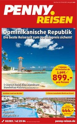 Angebote von Reisen und Freizeit im Penny Reisen Prospekt ( 10 Tage übrig)