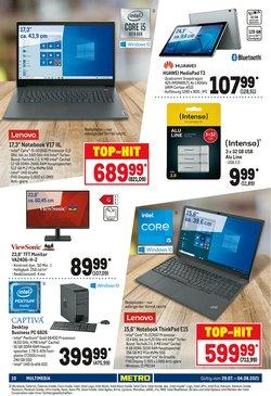 Angebote von Lenovo im Metro Prospekt ( 11 Tage übrig)