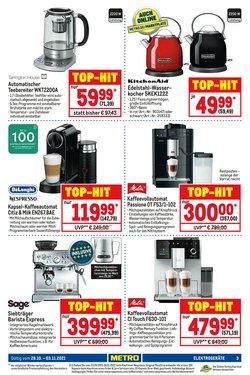 Angebote von Nespresso im Metro Prospekt ( 15 Tage übrig)