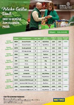Angebote von Supermärkte im Metro Prospekt ( Läuft heute ab)