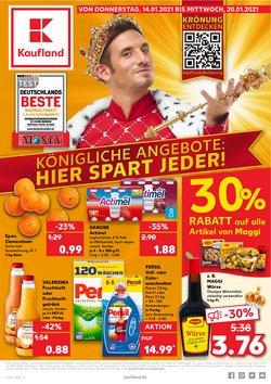 Angebote von Supermärkte im Kaufland Prospekt ( Gestern veröffentlicht )