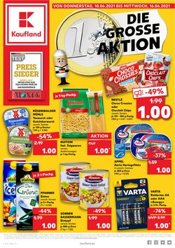 Angebote von Supermärkte im Kaufland Prospekt ( Läuft morgen ab)