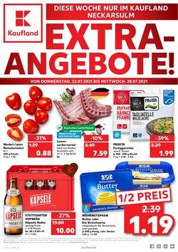Angebote von Supermärkte im Kaufland Prospekt ( 4 Tage übrig)