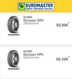 Angebote von Auto, Motorrad und Werkstatt im EUROMASTER Prospekt ( 4 Tage übrig)