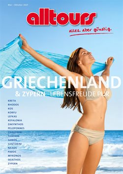 alltours Reisecenter Katalog ( Mehr als 30 Tage )
