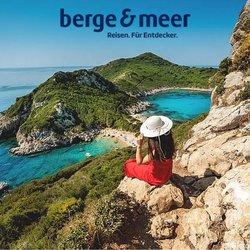 Berge & Meer Katalog ( Gestern veröffentlicht )
